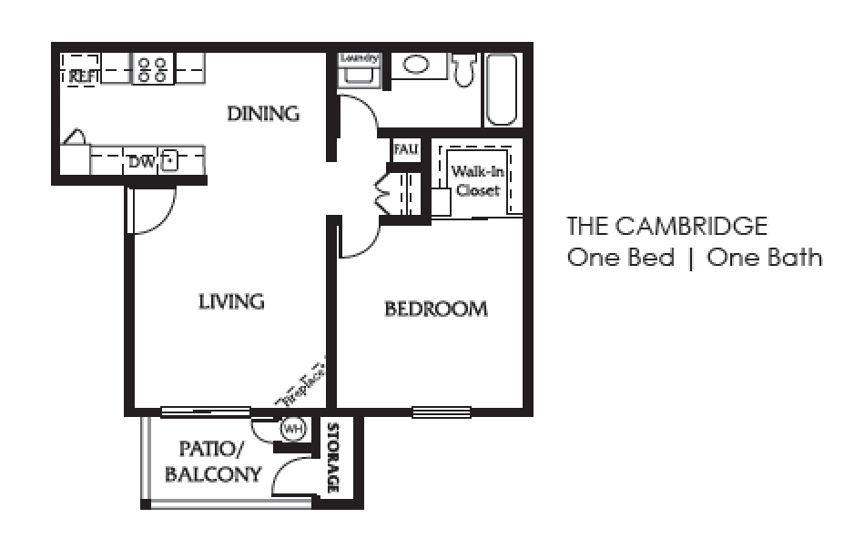 Cambridge One Bed One Bath