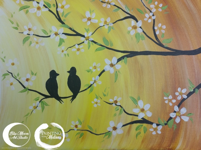 """""""Golden Girls"""" Acrylic Painting for Beginners"""