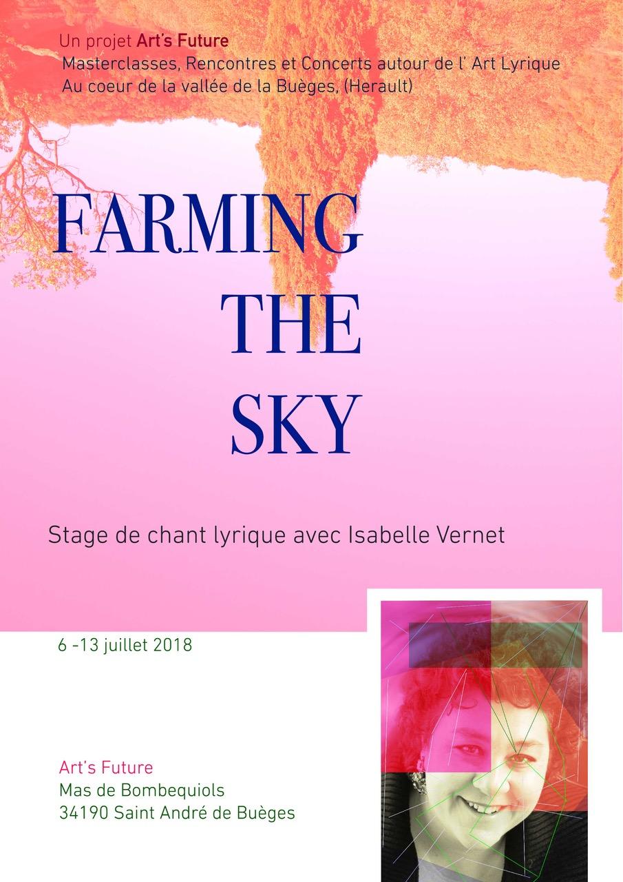 Stage de chant avec Isabelle Vernet - clos -