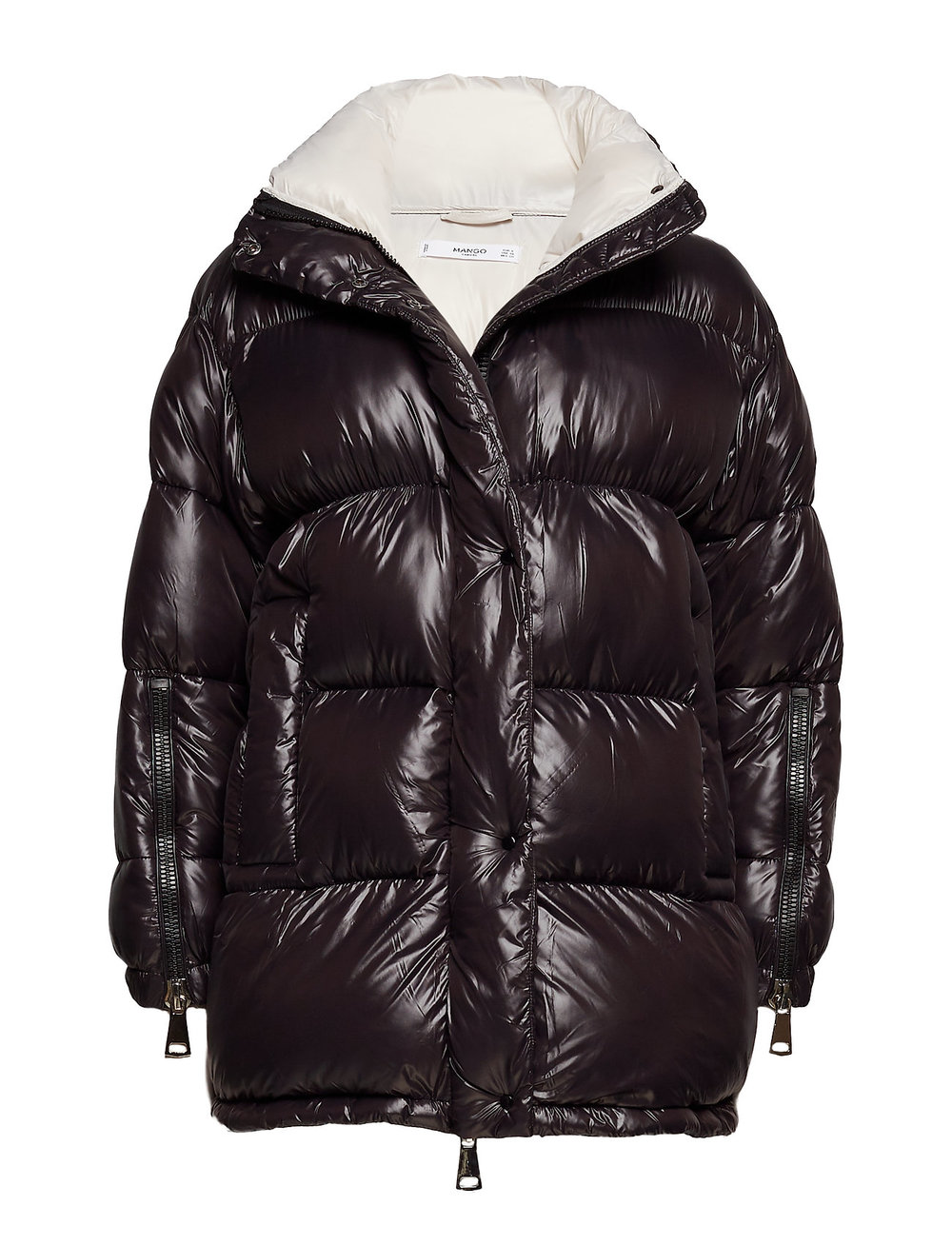 MangoQuilted Water-Repellent Coat - (90€)