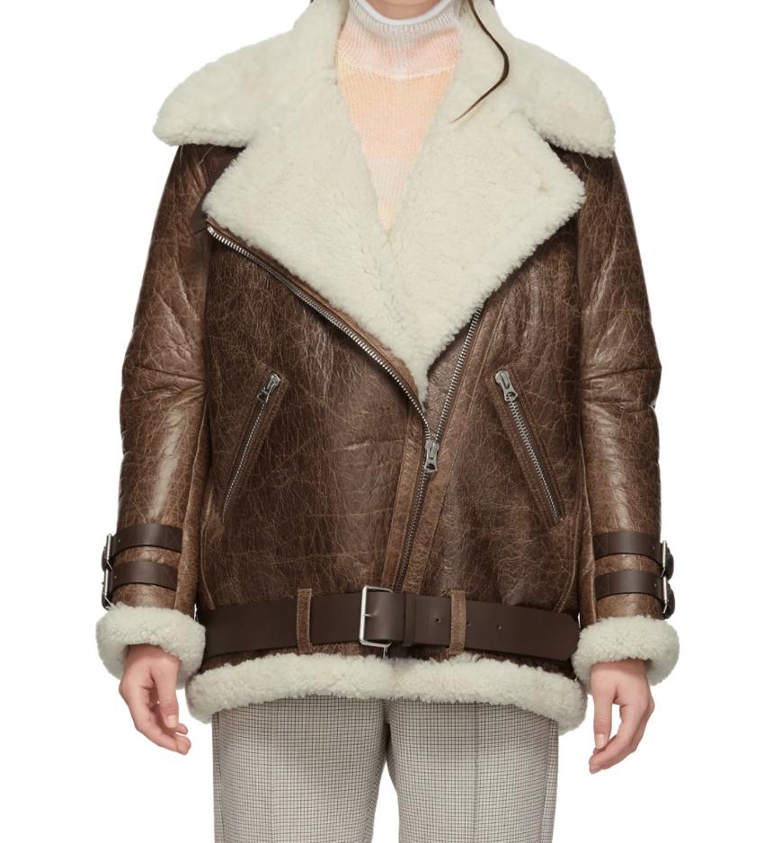Acne StudiosBrown Vintage Velocite Jacket - (2575€)