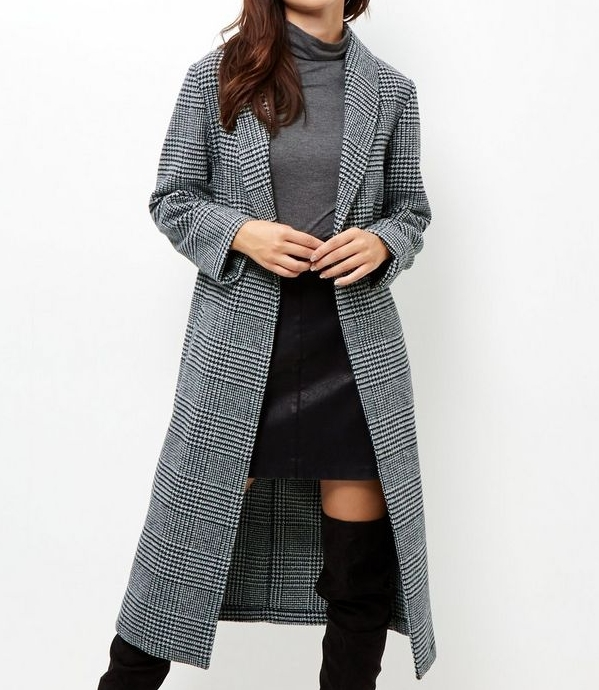 New LookCheck Maxi Coat - (22€ was 45€)