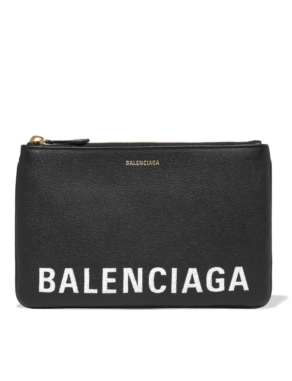 Balenciaga Ville Leather Pouch - 490€
