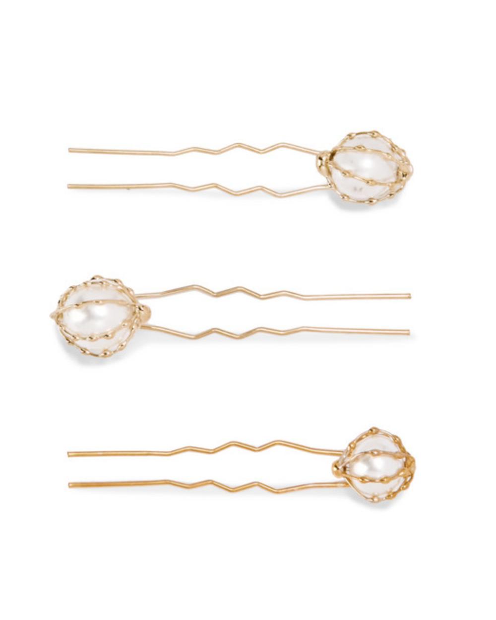 Rosantica Pearl Hair Pins - 95€