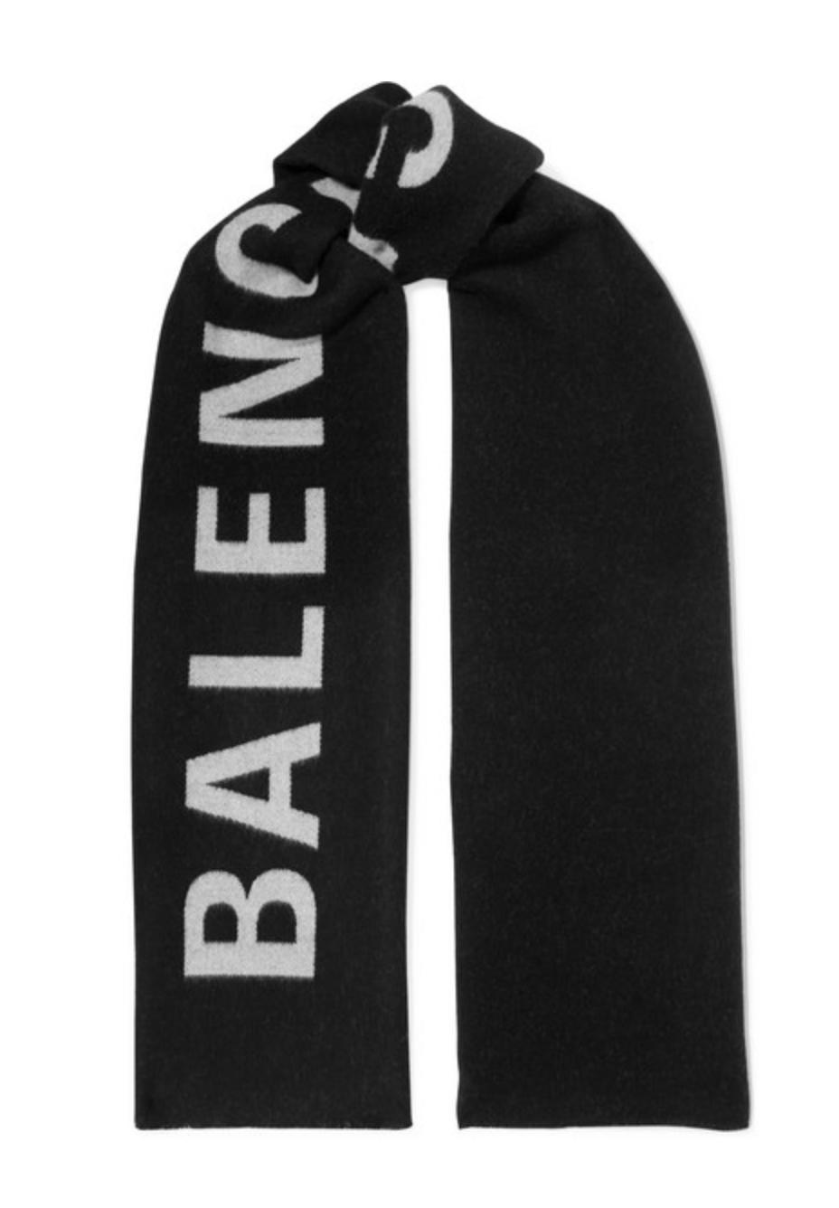 Balenciaga Wool Scarf - 495€