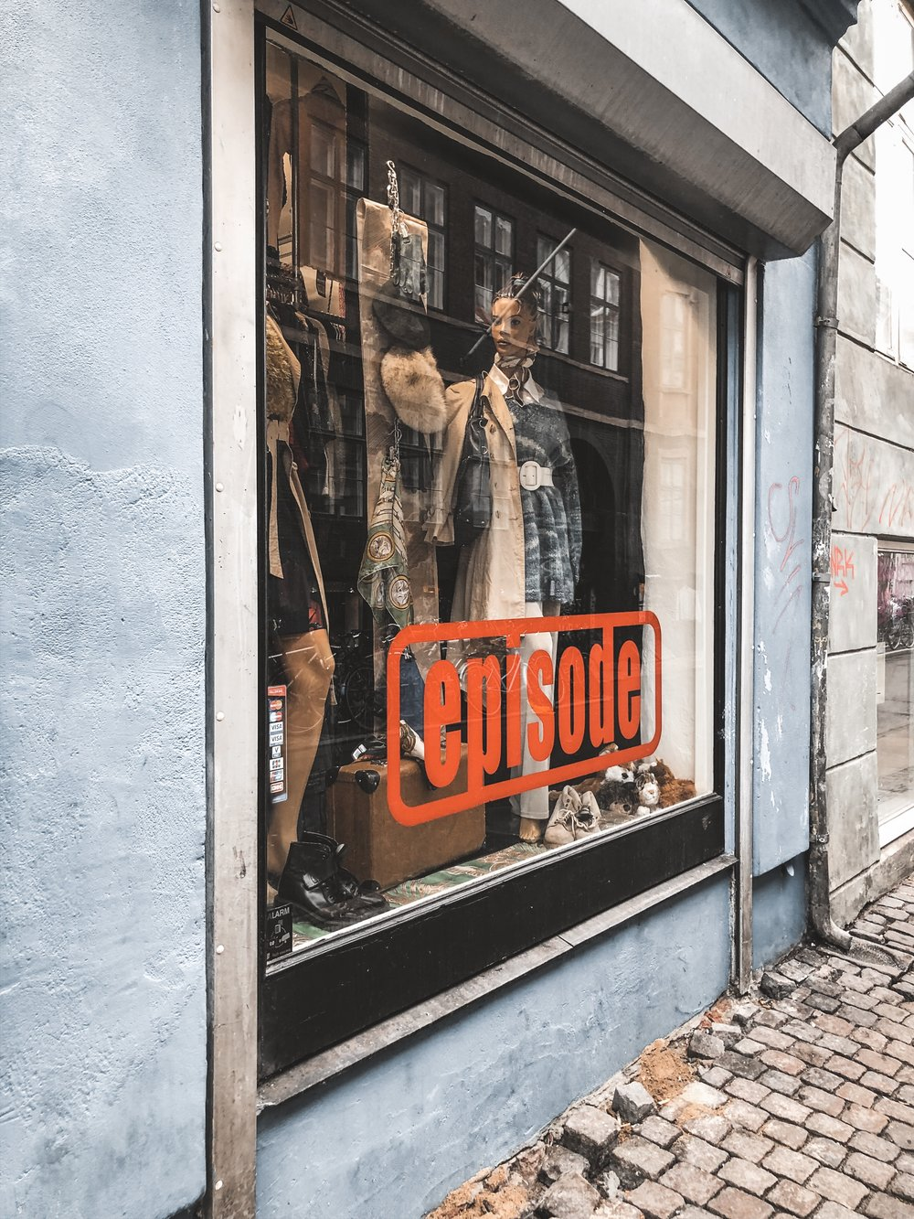 Episode - The best place for vintage shopping in Copenhagen.