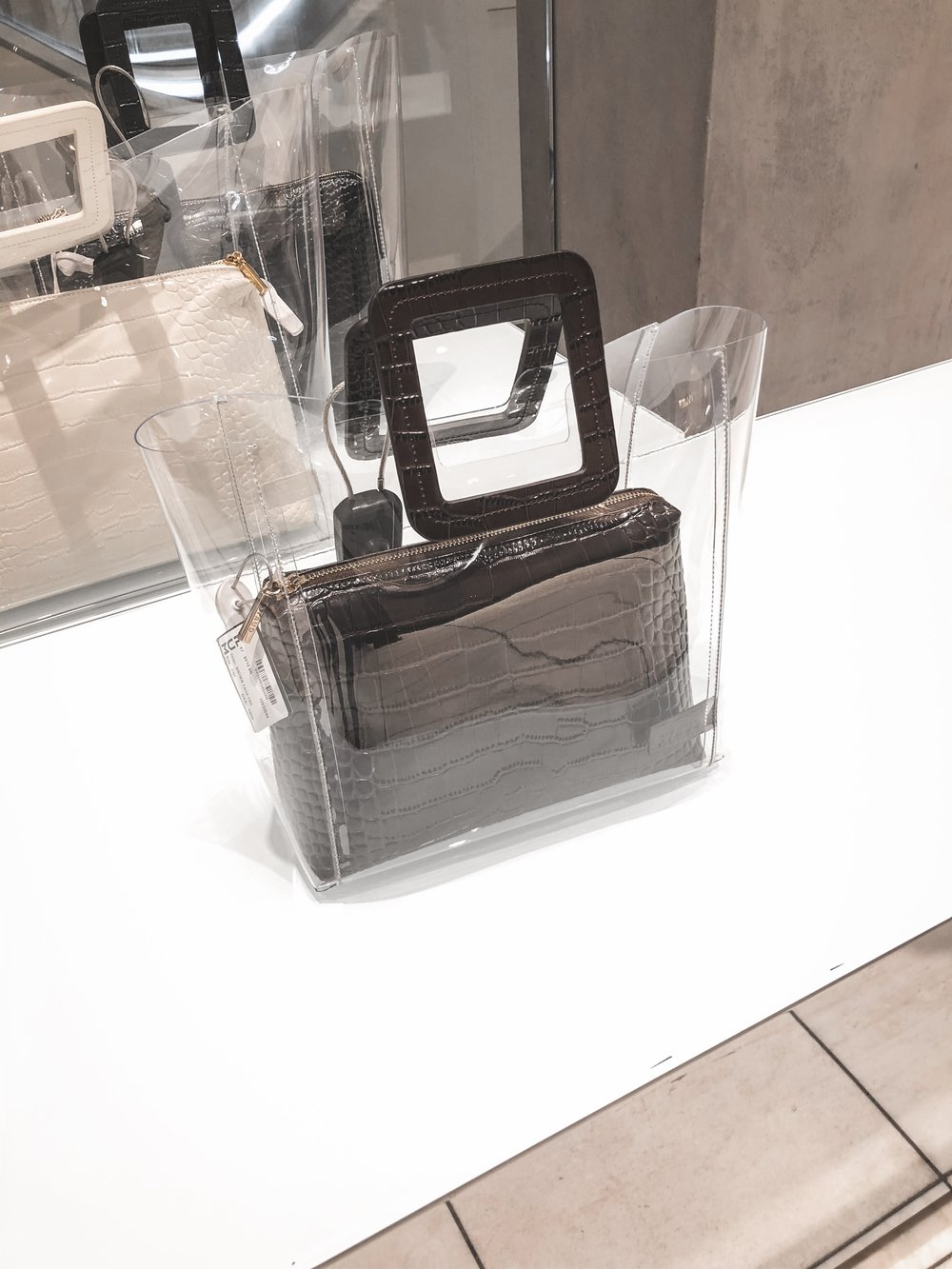 Perspex Bags - The one in the picture is from Staud but there's many other brands to choose from - I saw these types of bags everywhere in Copenhagen.