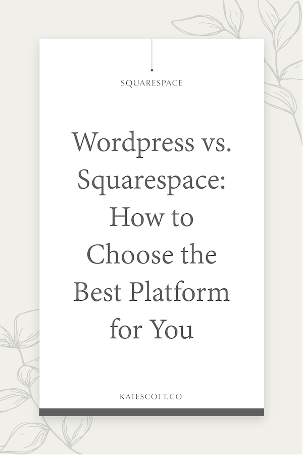Are you a Wordpress Wizard or a Squarespace Sorcerer? Find out with this quiz... | Wordpress vs Squarespace | Wordpress Features | Wordpress for Beginners | Squarespace for Beginners | #Blogging #Website #Wordpress
