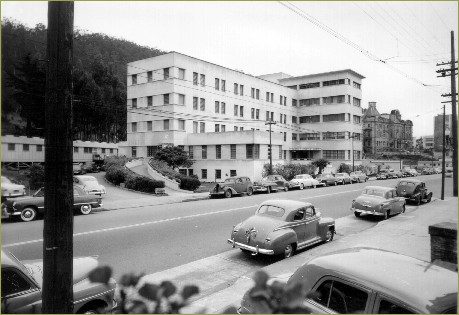 Langley Porter Psychiatric Clinic, ca. 1942. Photo:  UCSF History Collection