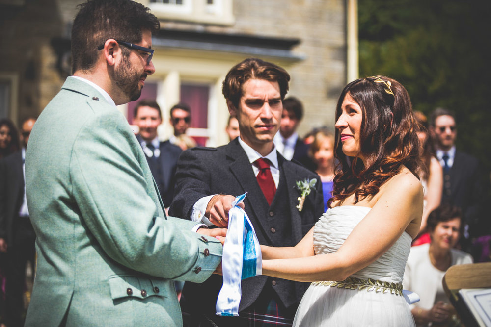 konstantina & Colin - Greek/Scottish wedding at Colzium House.