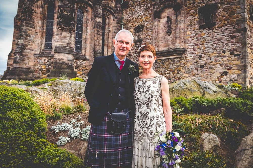Ann & George - Amazing Wedding at Edinburgh Castle