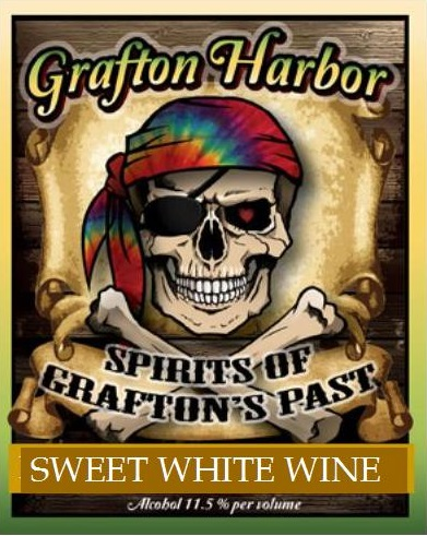 Spirit of Grafton's Past - Sweet White WineSpirit of Grafton's Past is for those who have a bit of a sweet-tooth in their wine taste! While it is on the sweeter side, we think you'll find this to be a well-balanced wine with x, y & z tasting notes.