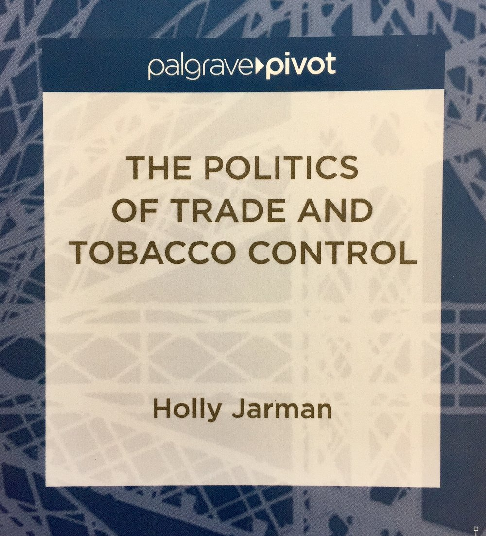 The Politics of Trade and Tobacco Control - Palgrave Macmillan, 2015How do trade and investment rules impact health policy spaces? Analyzing challenges to policies enacted by Australia, Canada, the United States, the European Union and Uruguay, I argue that the global trading system has narrowed the scope of conflicts over tobacco control, to the advantage of tobacco firms.