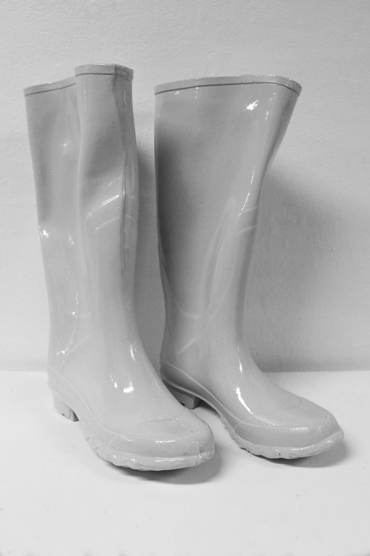 - Mud BootsSlip Cast Porcelain, 2017