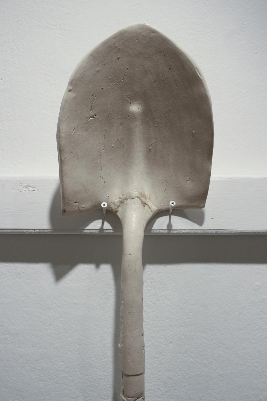 Garden Shovel   Press Molded Stoneware, 2018