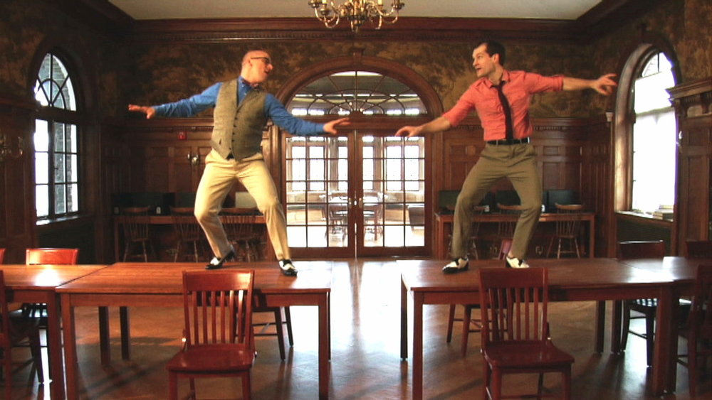 Ryan Kasprzak and Ryan VanDenBoom in CURIOSITY, Photo Credit: Antonio Panetta