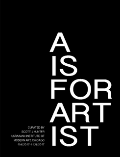 A is for artist $20.00