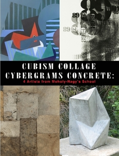 CUBISM COLLAGE CYBERGRAMS CONCRETE $25.00