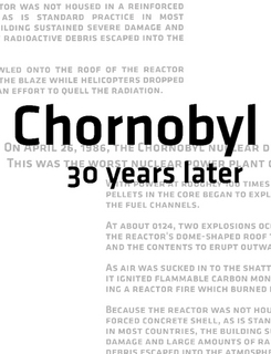 Chornobyl 30 Years Later $20.00