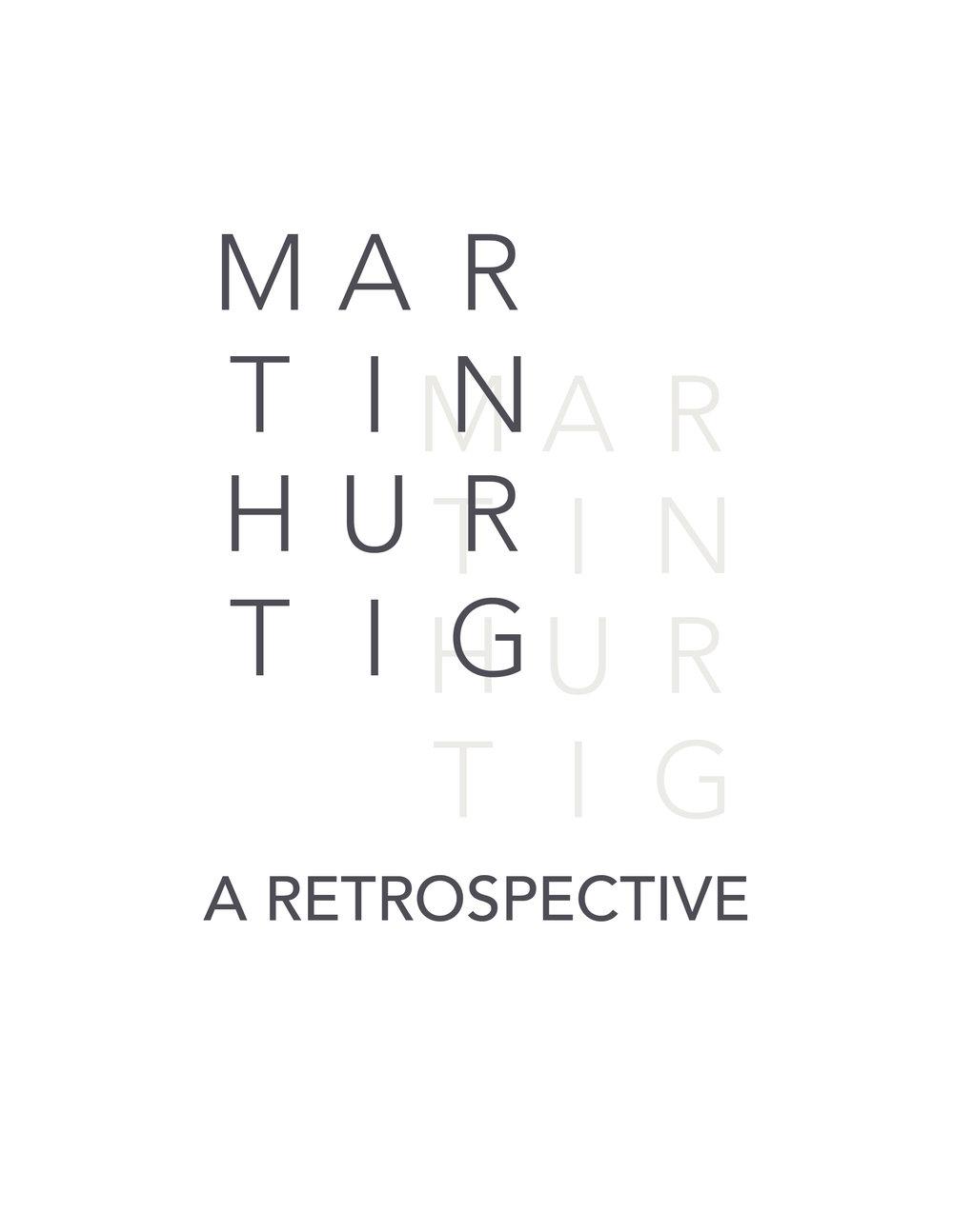 Martin Hurtig: A Retrospective $20.00