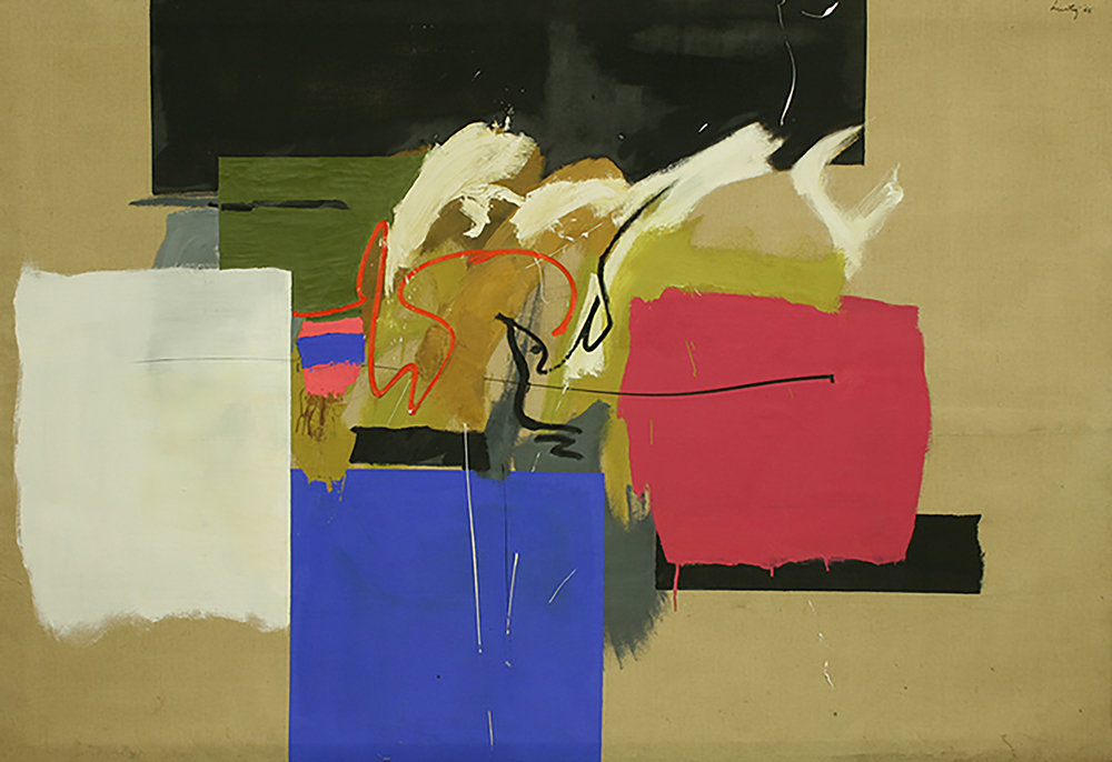 Complexities and Contradictions 1966 Oil: linen 52%22 x 76%22 .jpg