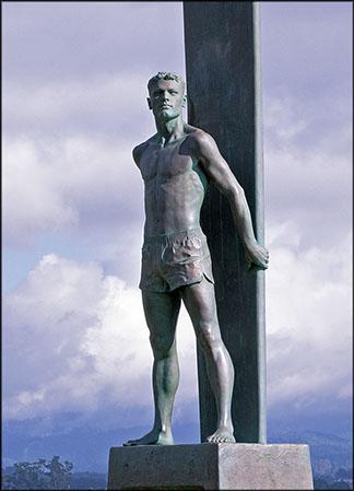 Surfer Monument 1998