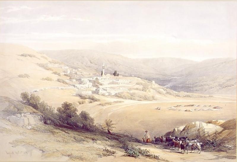 nazareth_the_holy_land_1842