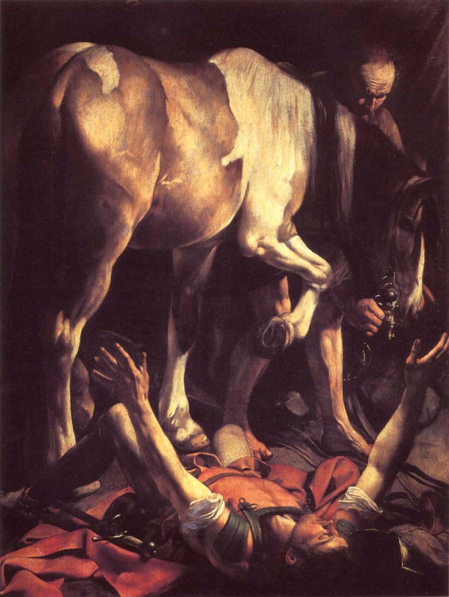 Caravaggio_1601_Conversion-of-St-Paul