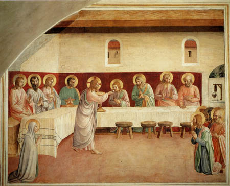 Last Supper Fra Angelico