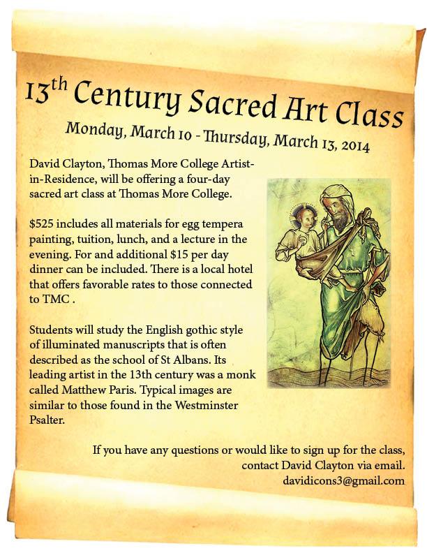 sacred art class