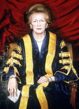 Baroness Thatcher portrait 2