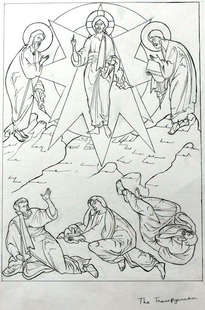 Transfiguration drawing