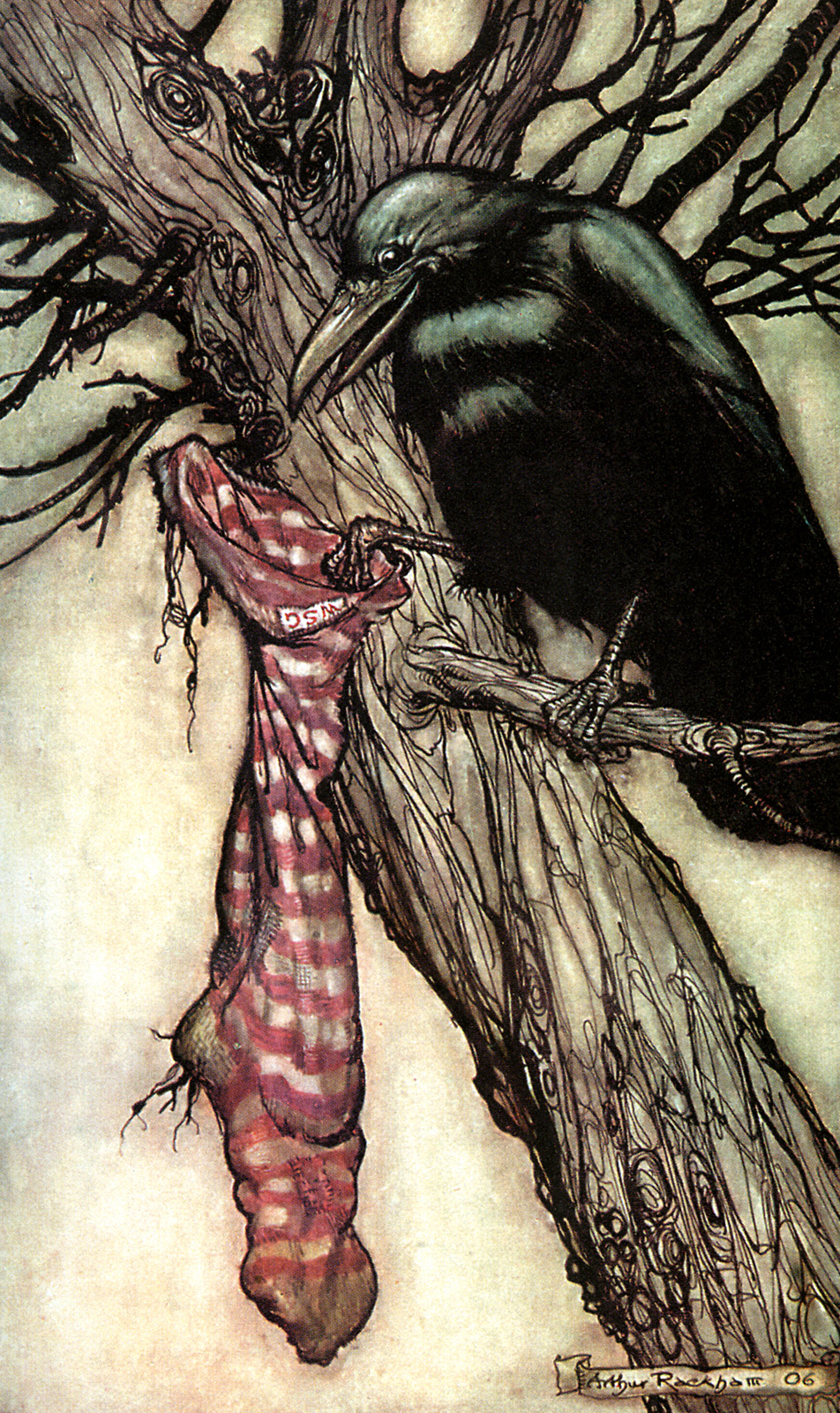 arthur rackham_peter pan in kensington gardens_14