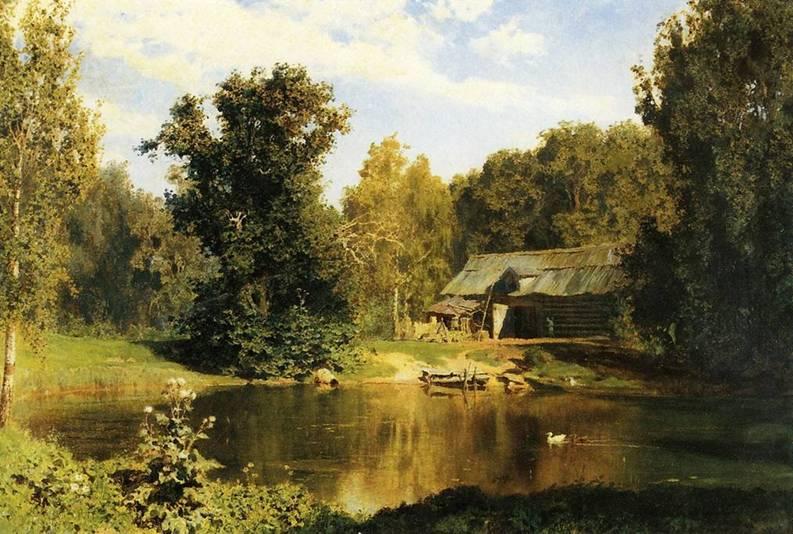 landscape Vasiliy_Polenov