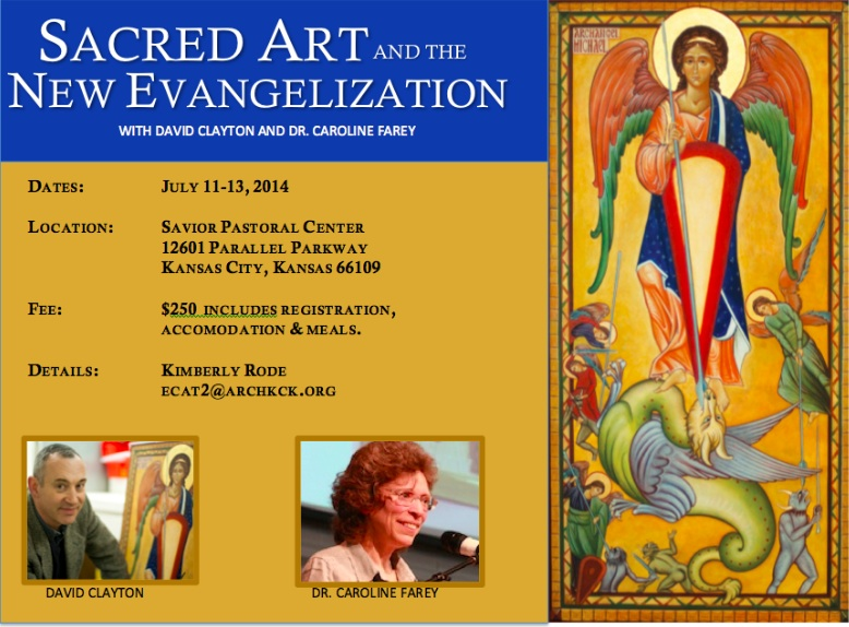 Sacred Art and New Evang Small Advert