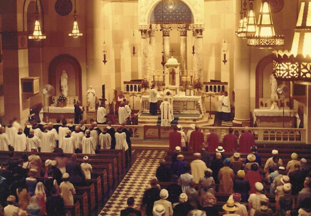 hn - solemn high mass consecration - old