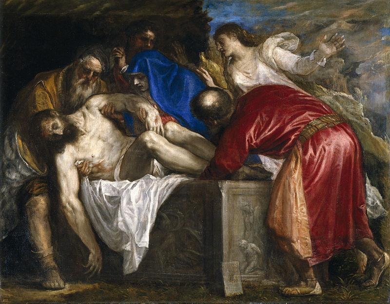 Titian - Entombment