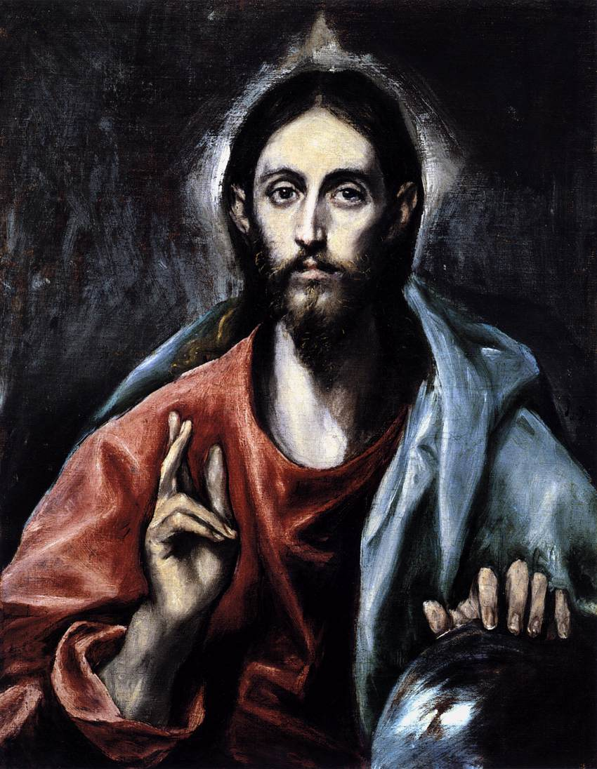 El_Greco_-_Christ_as_Saviour_-_WGA10550