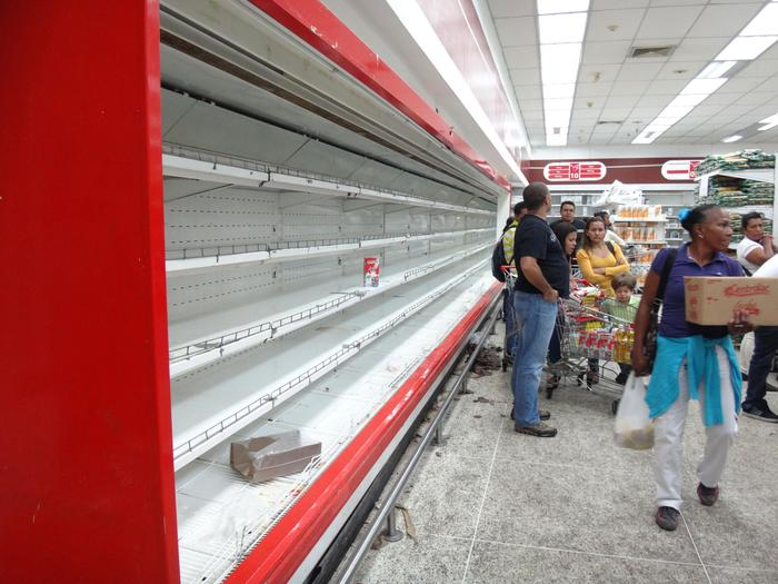Food shortages in Venezuela
