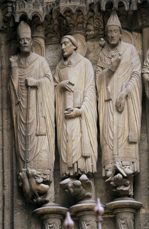 Saints Martin, Jerome, and Gregory