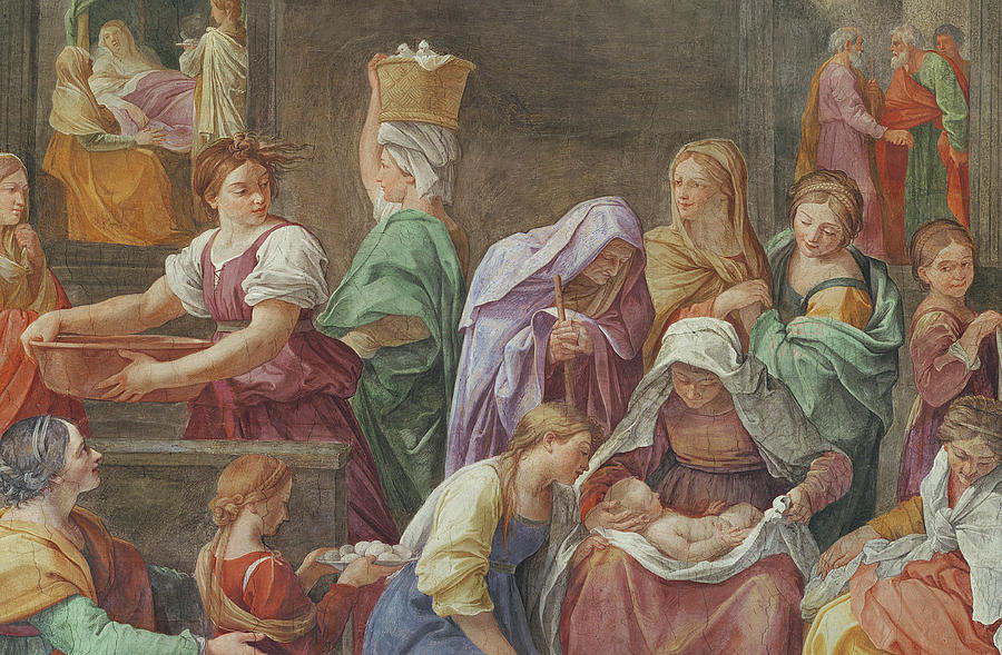My favourite! Guido Reni's Nativity of the Blessed Virgin Mary