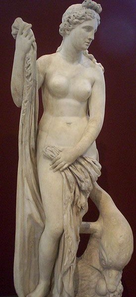 The goddess Venus.
