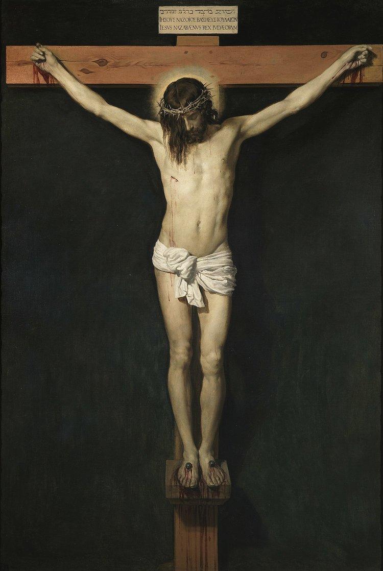 Crucifixion by Velzaquez.