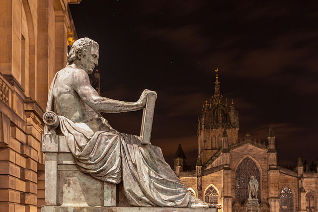 David Hume by Anthony Stoddart