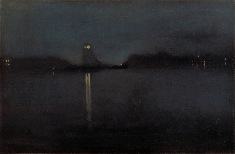 Nocturne by Whistler
