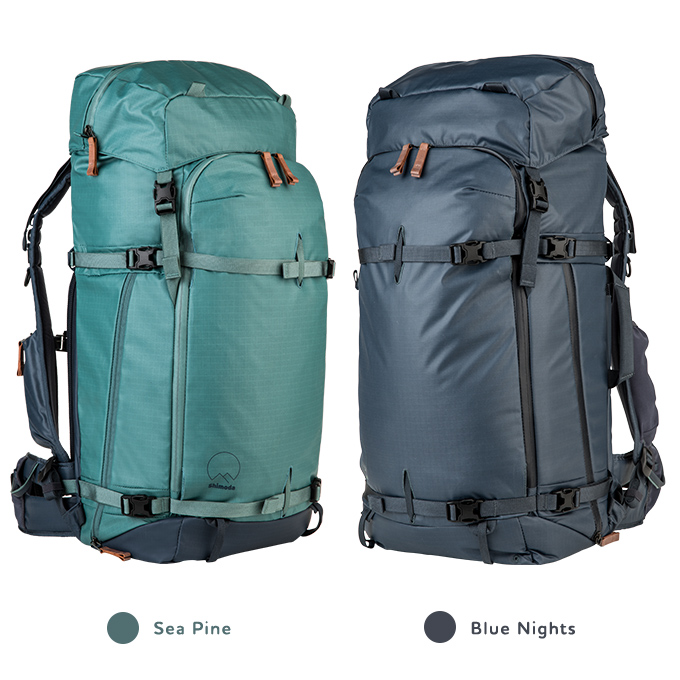 Explore 60 in sea pine and blue nights
