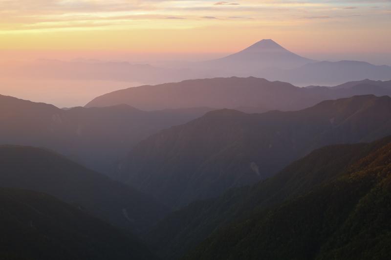 Mount Fuji Sunrise by Ian Millar