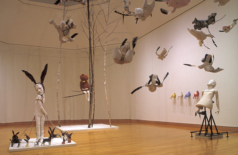 WHORL (1999) / Installation Shot at the Williams College Museum of Art