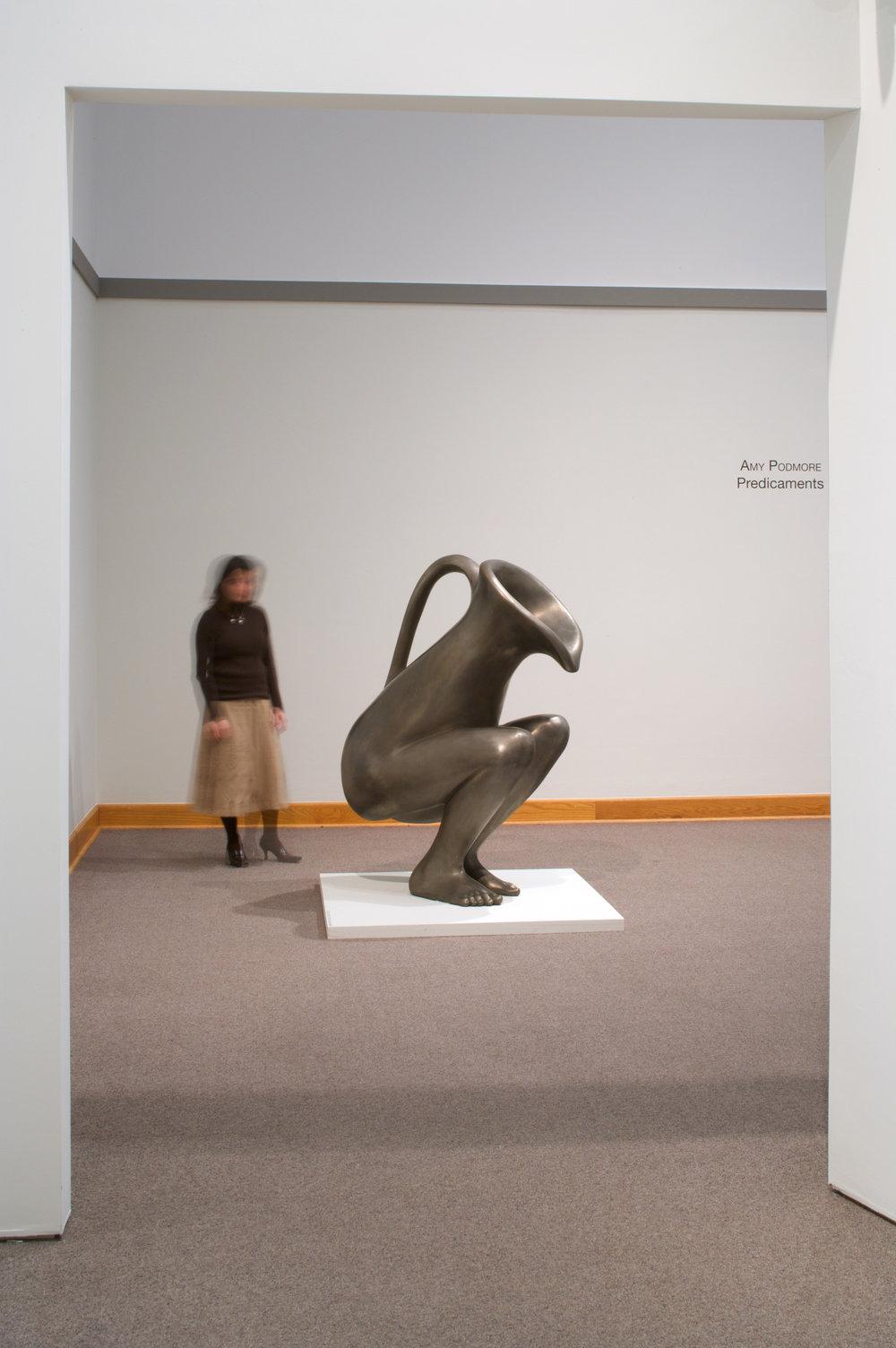 "LEVEL BEST (2009) Bronze, 60 x 42 x 24"" (2 of 2)"