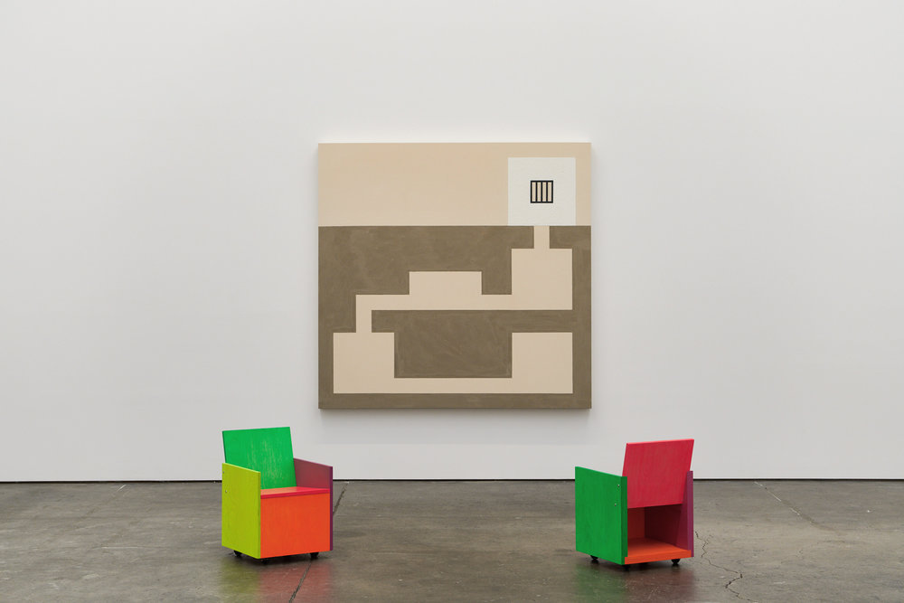 FEB 2018PETER, PAUL AND MARYAdrian Rosenfeld Gallery, San Francisco - A group show of Peter Halley, Mary Heilmann and Paul Lee, curated by Maccarone. Through March 3rd. Link.